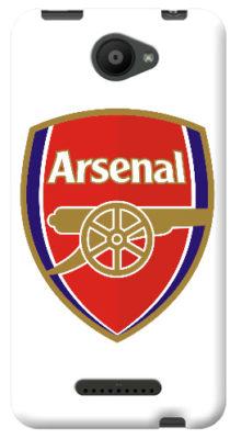 cover personalizzata Logo gunners Arsenal aquaris U