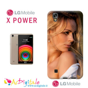 cover personalizzata Lg X power