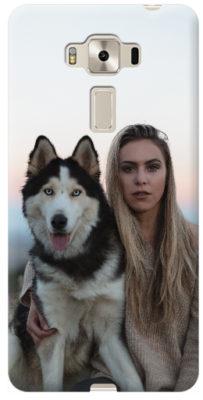 cover asus personalizzata Zenfone 3 deluxe 5.5 cane e ragazza