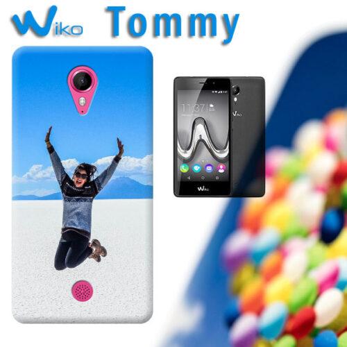 cover personalizzata tommy wiko