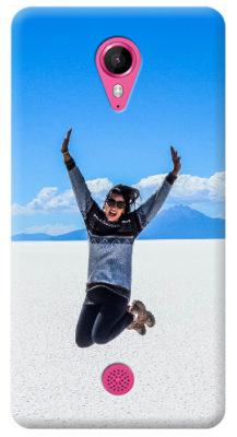 cover personalizzata wiko tommy con foto ragazza