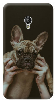 cover personalizzata smart turbo 7 con foto cane