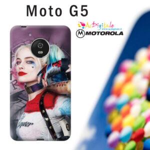 cover morbida personalizzata moto G5