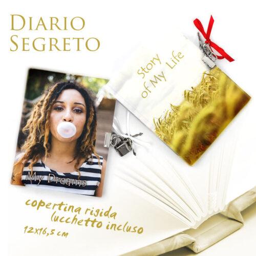 diario segreto personalizzato con foto