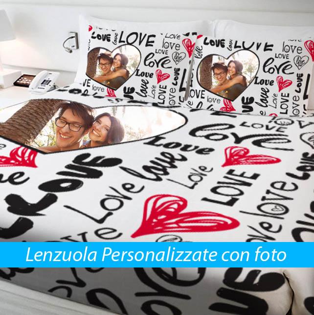 Super Lenzuola Personalizzate Con Foto DP32 » Regardsdefemmes XO17