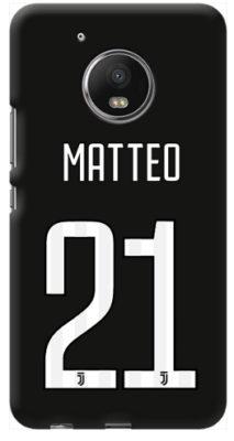 cover personalizzata con nome Moto G5 Plus