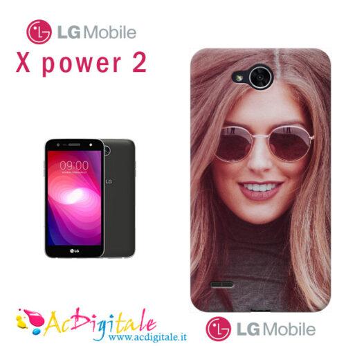 cover personalizzata Lg x power 2