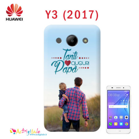 cover personalizzata Huawey Y3 2017