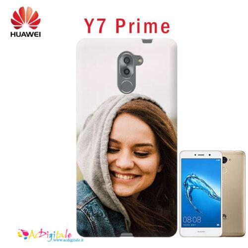cover personalizzata Y7 prime