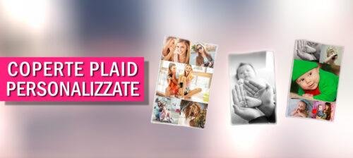 Coperte personalizzate e plaid con foto