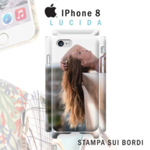 iPhone 8 cover personalizzata rigida