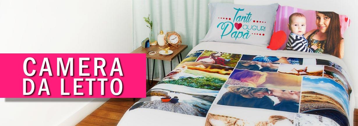 Biancheria per camera da letto personalizzata