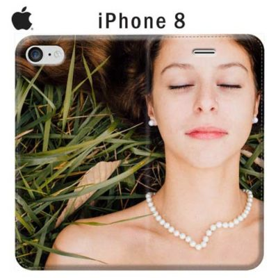 cover personalizzata iPhone 8 a libro