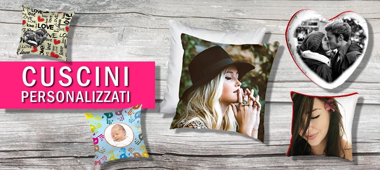 Crea e acquista online cuscini personalizzati con foto e grafiche