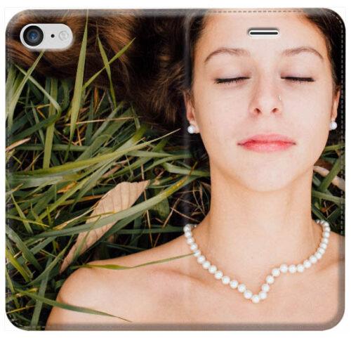 Crea custodia a libro iPhone X in ecopelle stampa fronte retro