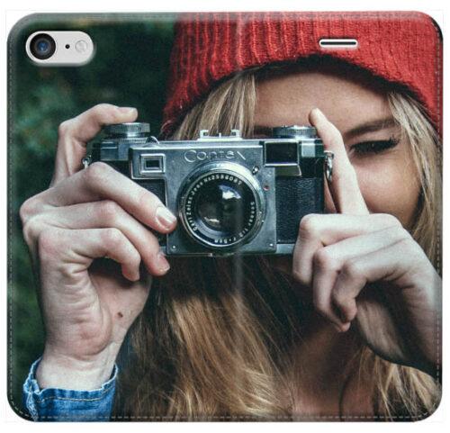 flip cover per iPhone chiusura magnetica iphone 8 plus