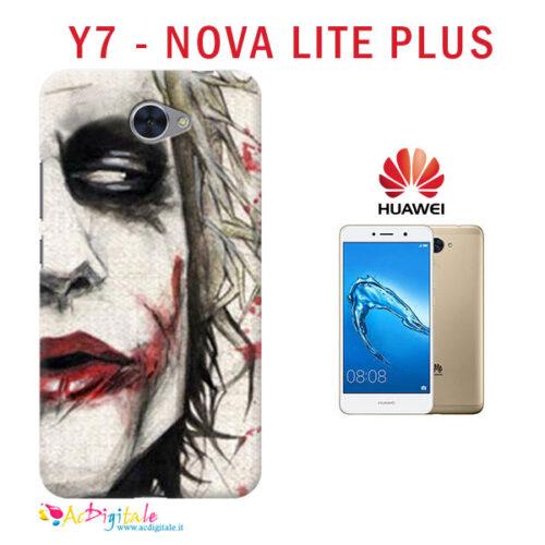 cover personalizzata Y7 - NOVA LITE PLUS