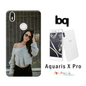 cover personalizzata Aquaris X Pro
