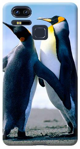 cover personalizzata con pinguini Zenfone 3 Zoom ZE553KL