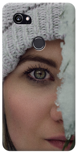 cover personalizzata google Pixel 2 xl con foto occhio