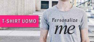 magliette e t-shirt personalizzate uomo