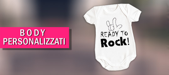 body personalizzati - abbigliamento bambino