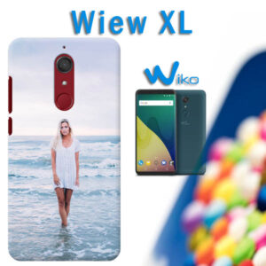 cover personalizzata Wiko view XL