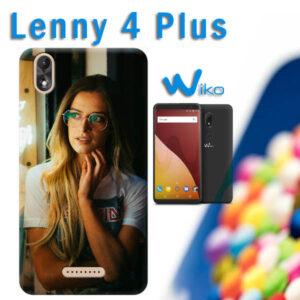 cover personalizzata wiko Lenny 4 plus