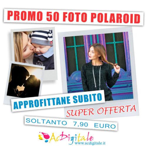 promo stampa foto polaroid