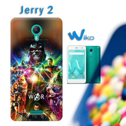 cover personalizzata per Wiko Jerry 2