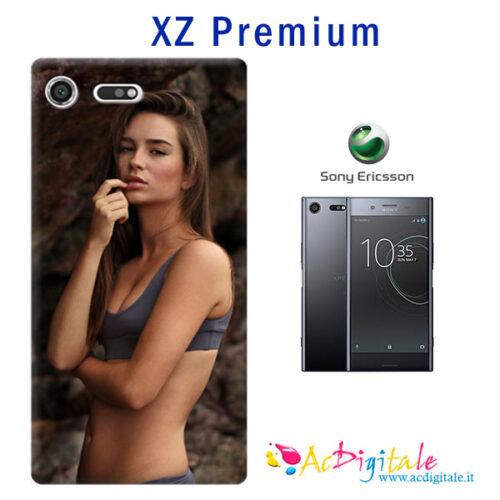 Cover personalizzata con foto per sony xz premium