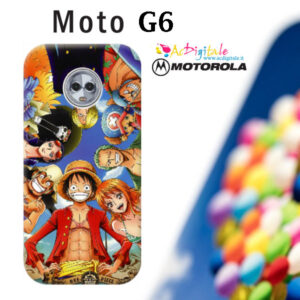 cover personalizzata per moto G6