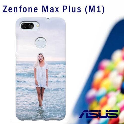 cover personalizzata Zenfone max plus m1