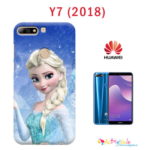 Cover personalizzata Y7 2018