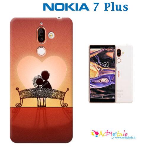 cover personalizzata Nokia 7 Plus
