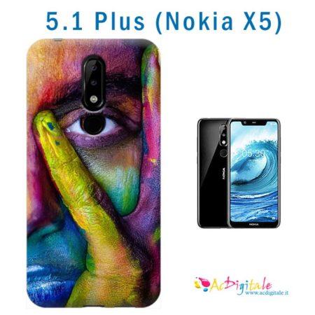 cover personalizzata 5.1 Plus (Nokia X5)