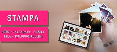 Stampa foto e foto calendari personalizzati