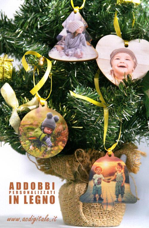 decorazioni natalizie personalizzate in legno