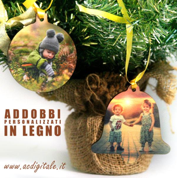 decorazioni natalizie in legno e addobbi personalizzati