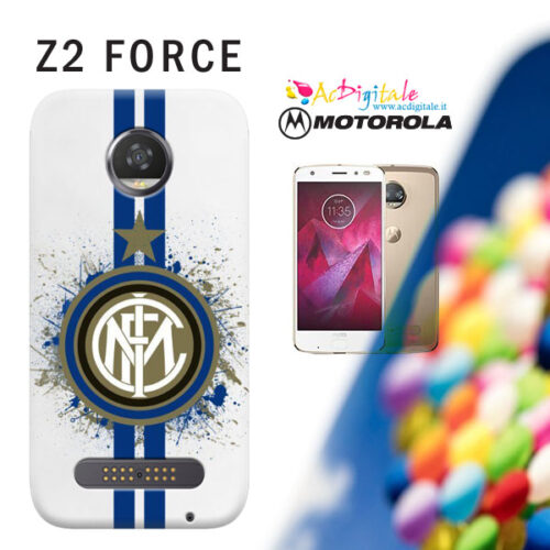 Moto Z2 Force cover personalizzata