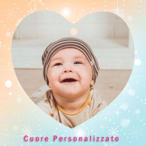 decorazione a forma di cuore personalizzato