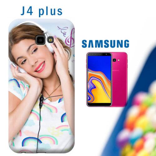 cover personalizzata samsung J4 plus