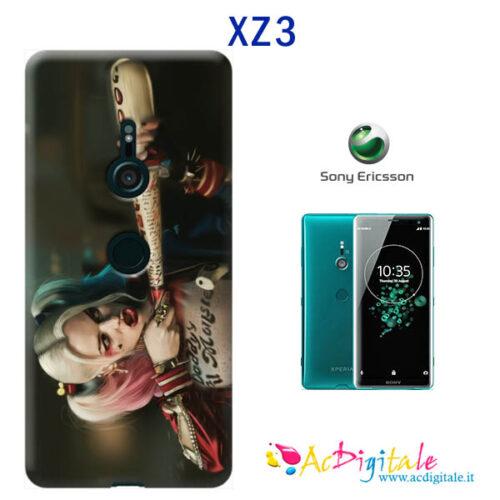cover morbida personalizzata sony XZ3