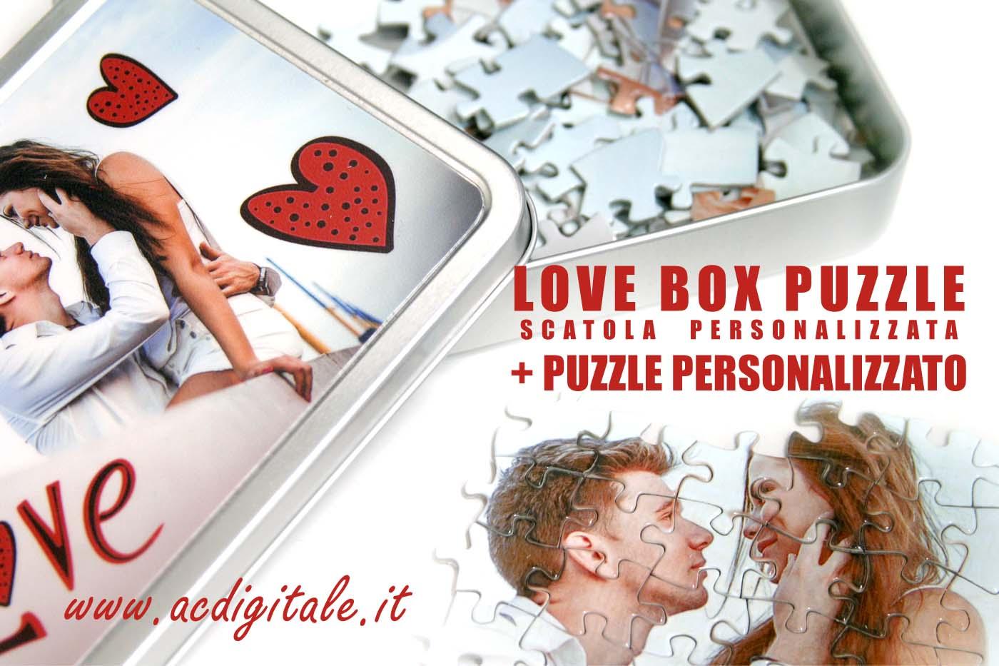 box personalizzato con puzzle