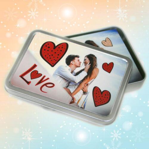 contenitore box personalizzato per fotografie