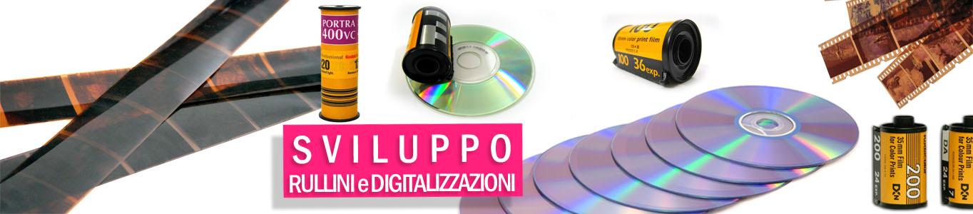 sviluppo e stampa rullini e negativi anche digitalizzazione