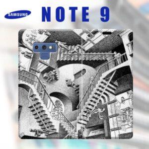 realizza una cover a libro personalizzata con frasi e foto per galaxy note 9