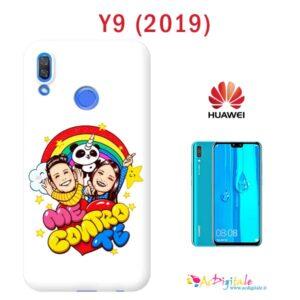 cover personalizzata Y9 2019 con foto