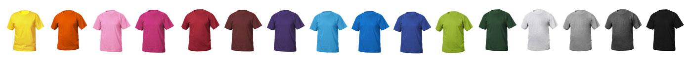colori t-shirt personalizzate