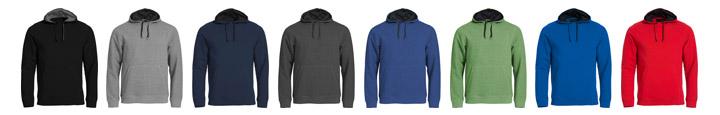 colori felpe personalizzate con cappuccio e tasche per uomo